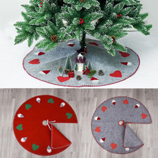Stickers, santatreeskirt, decorativeprop, Christmas