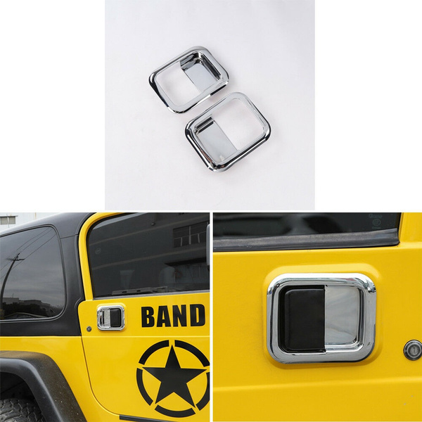 Trim, wrangler, Handles, Jeep