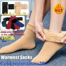 Thicken, velvet, Winter, Socks