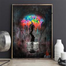 Light Bulb, canvasprint, posters & prints, Wall Art