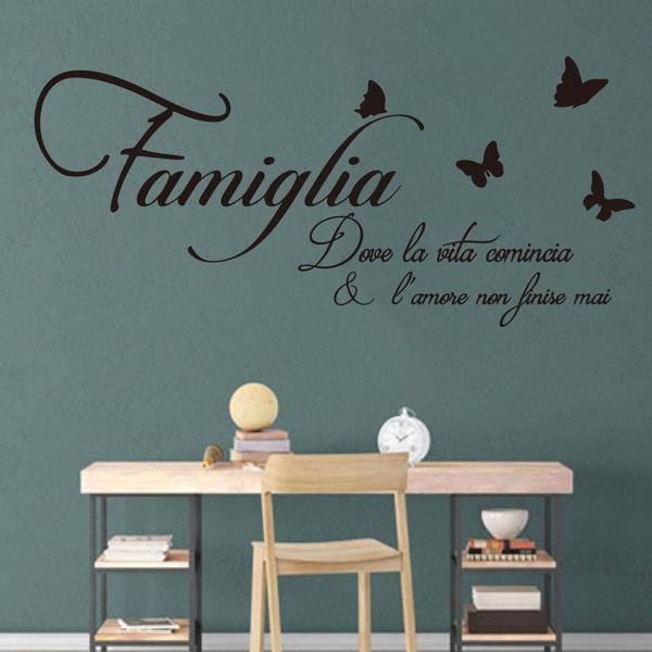butterfly, Family, windowsticker, Home Decor