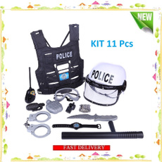 Set, Police, déguisement, Cosplay