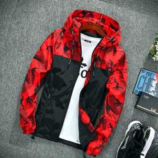 hooded, Outerwear, Zip, Coat