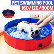 bathtub, dogswimming, Pets, petswimmingpool