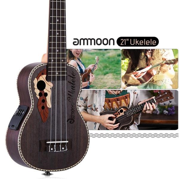 sapeleukulele, acousticukulele, Musical Instruments, ukulelewitheq