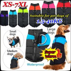 padded, Vest, dogwaterproofcoat, Jacket
