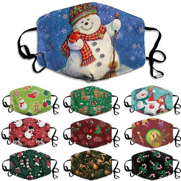 snowman, festivalmask, Christmas, unisex