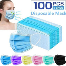 Blues, Outdoor, 3layermask, surgicalmask