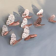 butterfly, art, Home Decor, gold