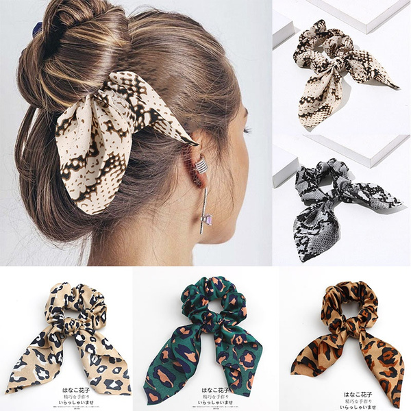 hairtieband, Leopard, hairrope, Women's Fashion