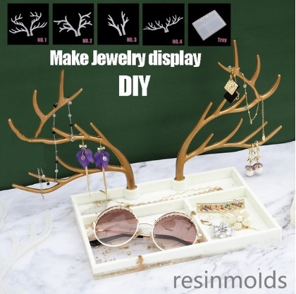 Jewelry, Silicone, Tree, Crystal