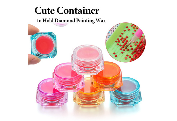 DIY Diamond Painting Glue Clay Embroidery Cross Stitch Drilling Mud Tools