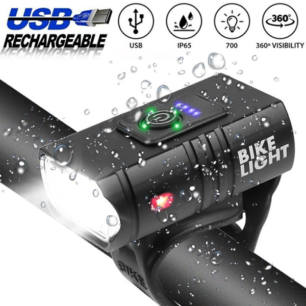 Bicycle, Rechargeable, bicyclelight, usb