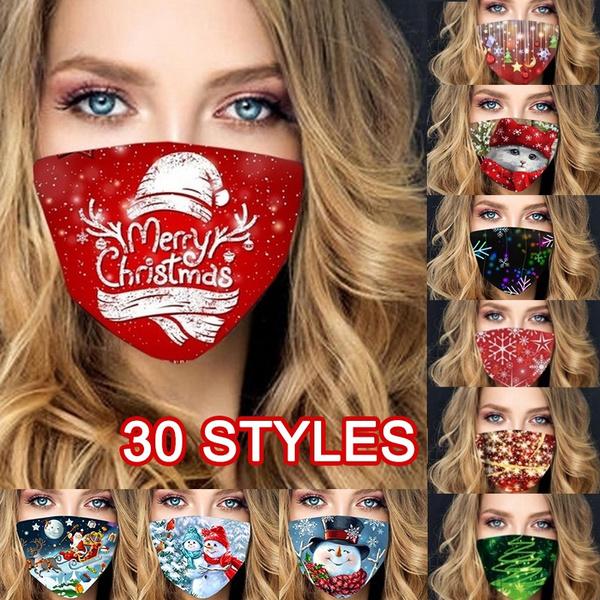 breathingmask, Outdoor, fashionfacemask, Christmas