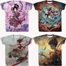 Funny, nezha, Shirt, Summer