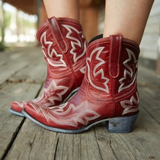 ankle boots, midcalfboot, Medieval, Cowgirl