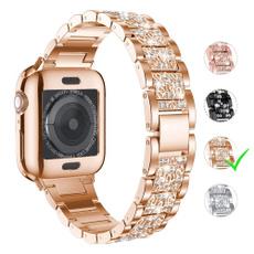 DIAMOND, Apple, Bracelet, Stainless Steel