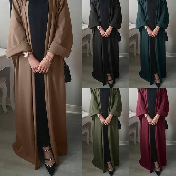 muslimclothe, Women, muslimcardigan, Sleeve