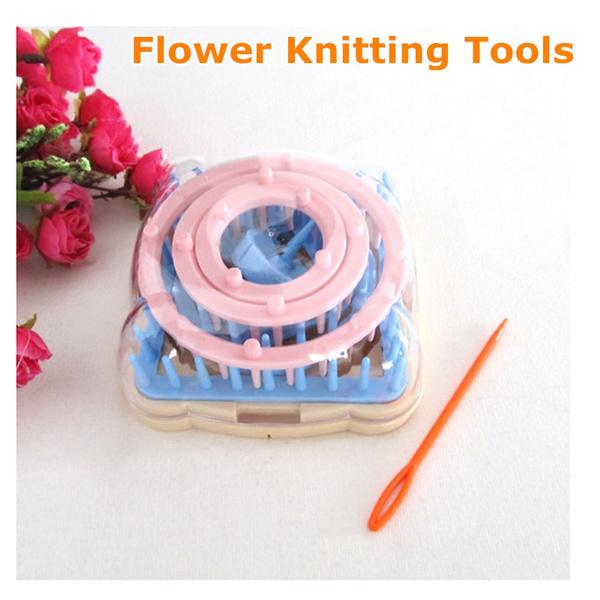Flowers, Knitting, Gel, weavingmachine