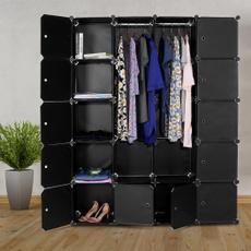 Toy, plasticmodularwardrobe, wardroberack, Closet