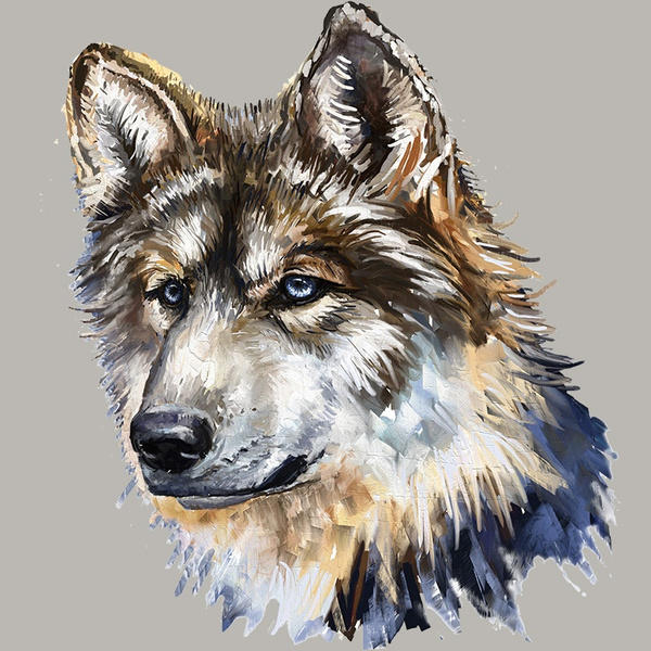 wolfpatch, Clothes, Clothing, irononpatch