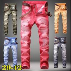 Blues, men jeans, trousers, skinny pants