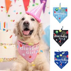 Birthday, Fashion, Dog Collar, dogscarf