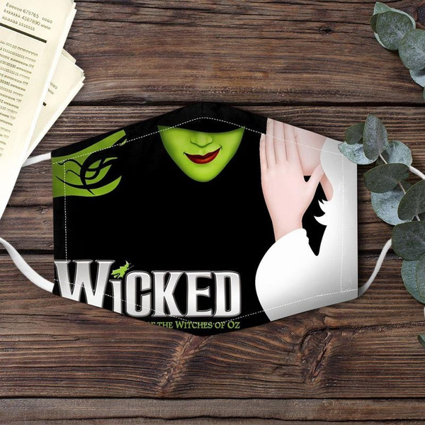 customlabel0wish3dmask, Gifts, wish3dmask, Witch