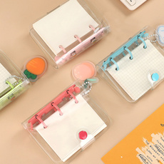 Kawaii, cute, looseleaf, portable