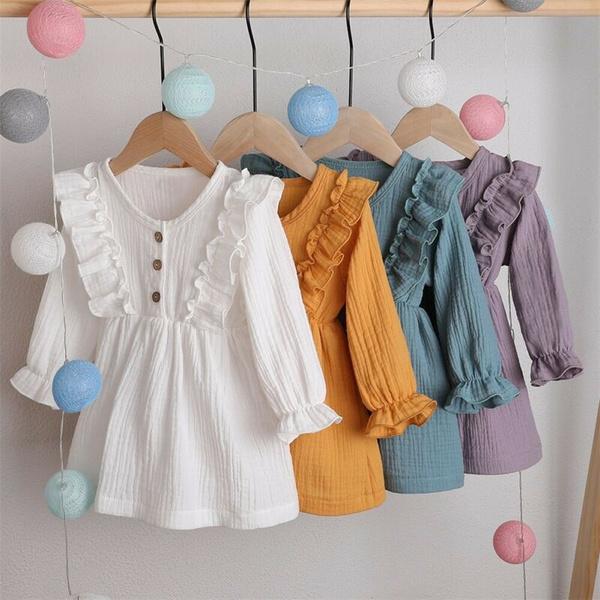 Summer, girls dress, ruffle, littlegirlsclothe