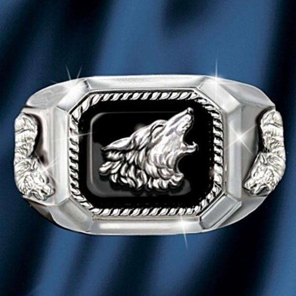 engraving, men_rings, Fashion, animalring