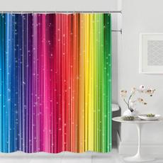 rainbow, Bathroom, Bathroom Accessories, Waterproof