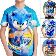 sonic, Shorts, Shirt, childrenshirt