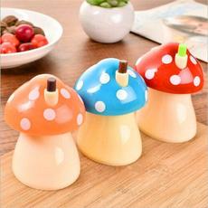 Storage Box, cute, mushroomtoothpickholder, Mushroom