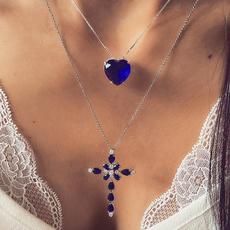 Jewelry, Heart, Chain Necklace, DIAMOND