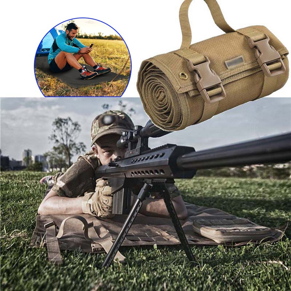 Tactical Roll-Up Shooting Mat Shooting Double-sided Waterproof