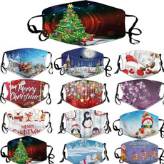 festivalmask, Christmas, christmasprintmask, unisex