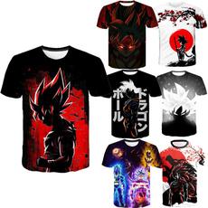 Short Sleeve T-Shirt, dragonballzfigure, Casual, dragon