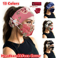 Head, facemaskholder, Yoga, antihairband