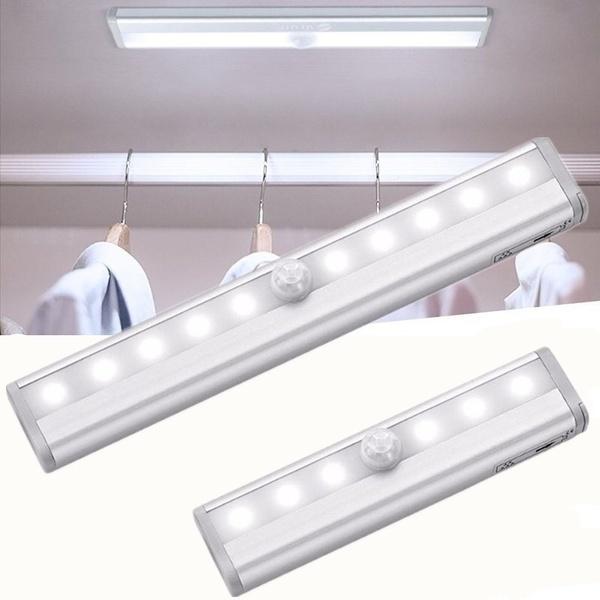 Cabinets, ledmotionsensorlightbar, batteryledmotionsensor, Closet