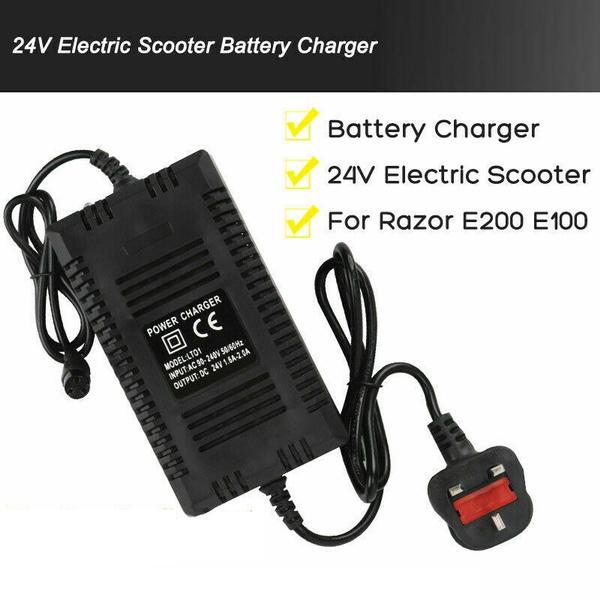 Razor, Battery Charger, Battery, monopattinoelettrico