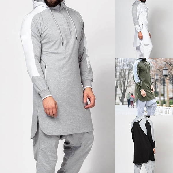 kaftanabaya, hooded, Sleeve, Long Sleeve