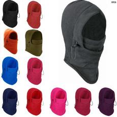 Beanie, Winter, Masks, Fleece