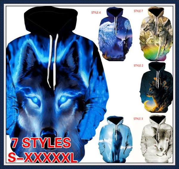 hoodiesformen, hooded, pullover sweater, wolfhoodie