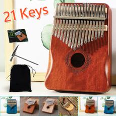 woodenkalimba, Musical Instruments, fingerpiano, mahogany