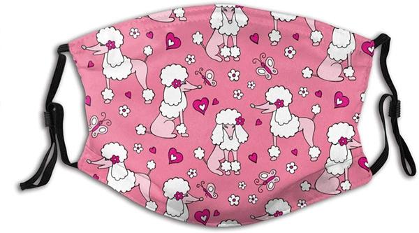 pink, washable, Cotton, mouthmask
