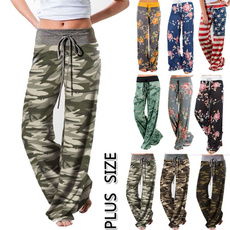Women Pants, drawstringpant, Plus Size, Casual pants