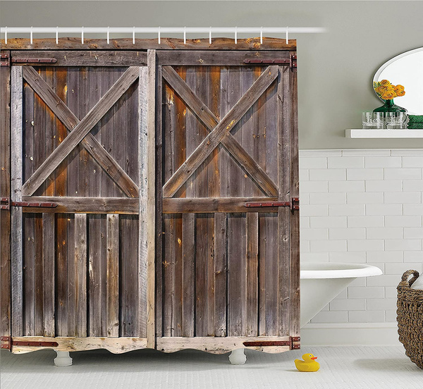 brown, Bathroom, Door, Cloth