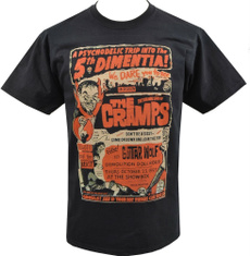 cramp, Shirt, Movie, Horror