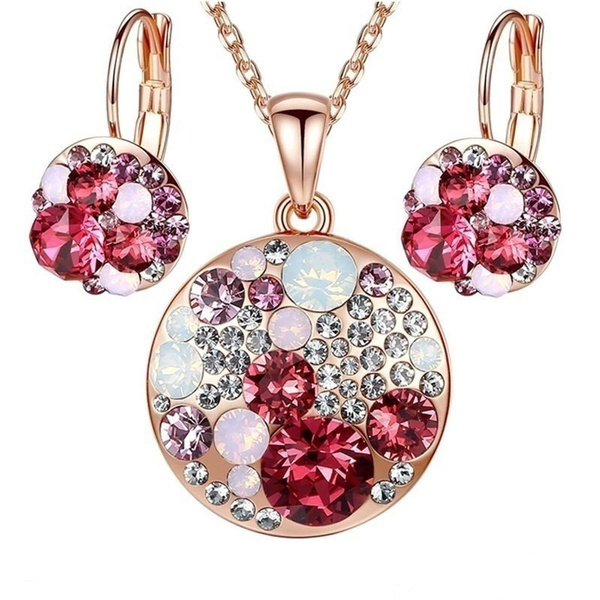Sterling, Silver Jewelry, Fashion, Crystal Jewelry